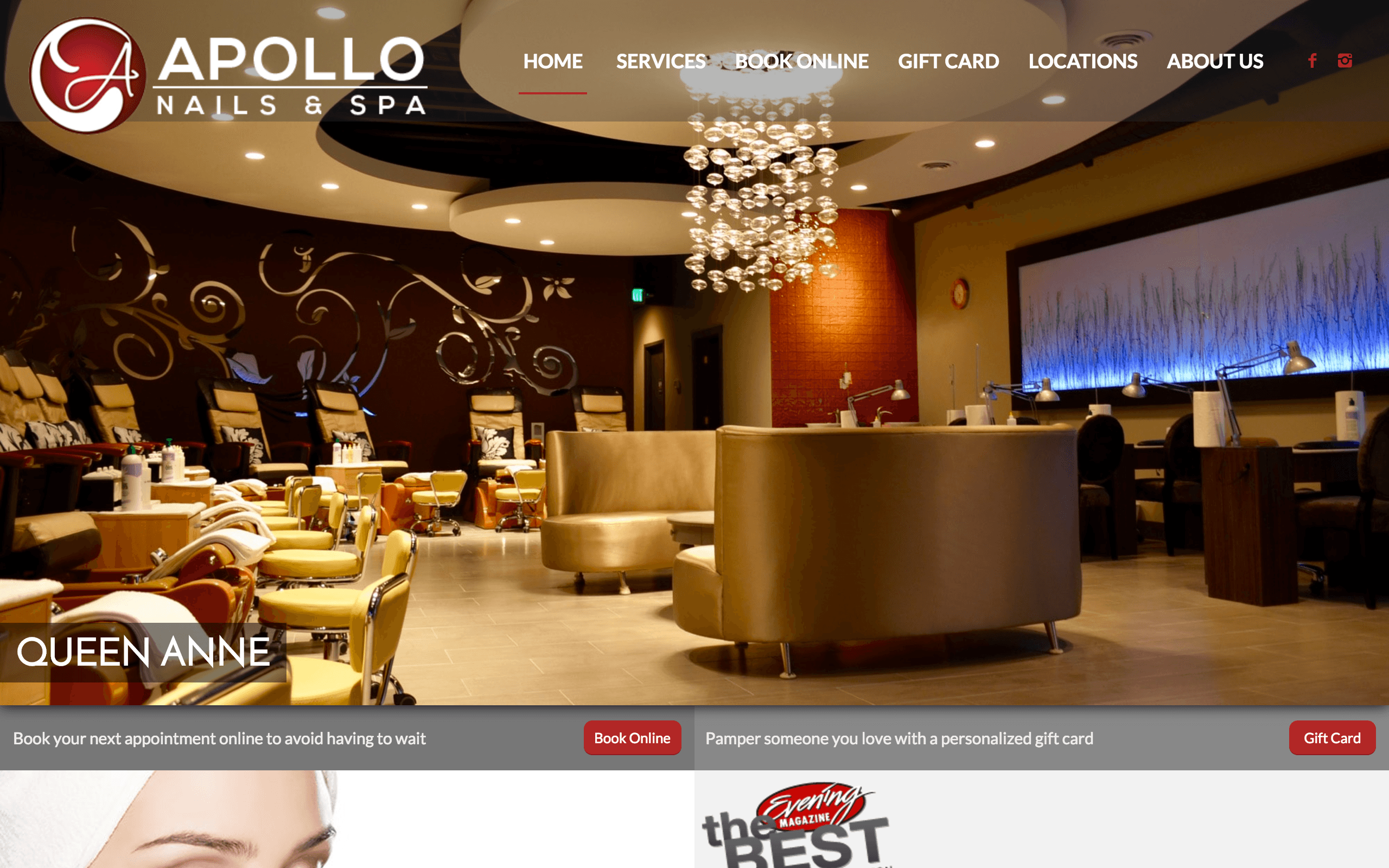 Apollo Nails & Spa | Seattle Poulsbo Silverdale | Nail Salon